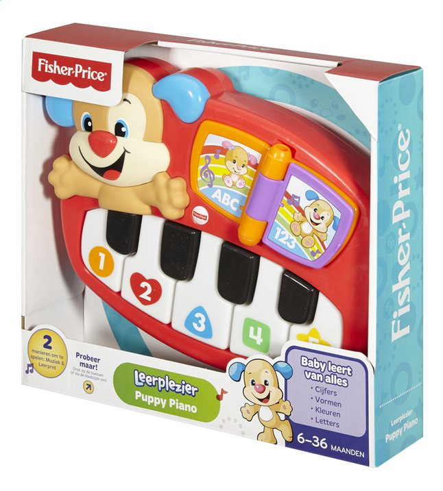 Afbeelding van Fisher-Price Laugh & Learn Puppy's Piano from ColliShop