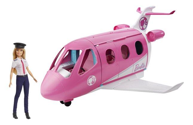 Afbeelding van Barbie speelset Droomvliegtuig met piloot from ColliShop
