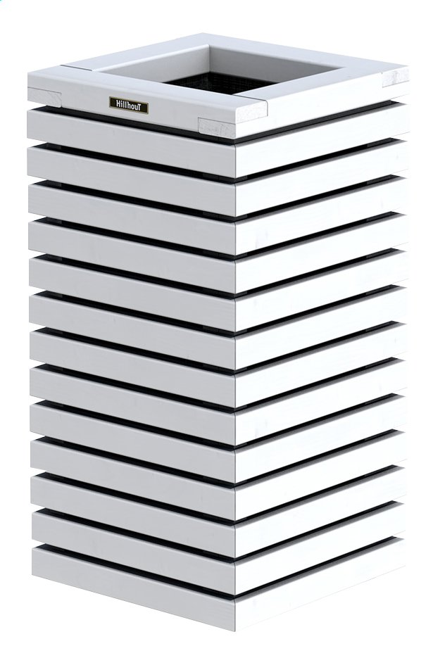 Afbeelding van Hillhout Bloembak Elan wit H 72 cm from ColliShop