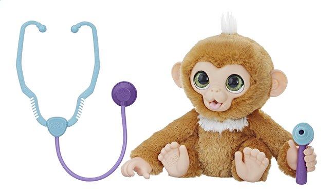 Afbeelding van FurReal interactieve knuffel Zandi het zieke aapje from ColliShop