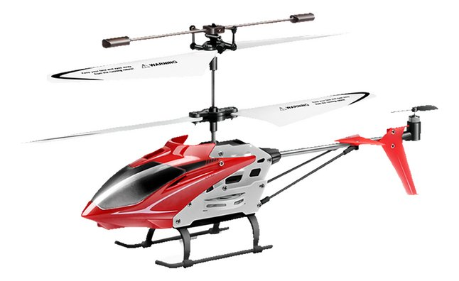 Syma helikopter RC S5 Speed rood