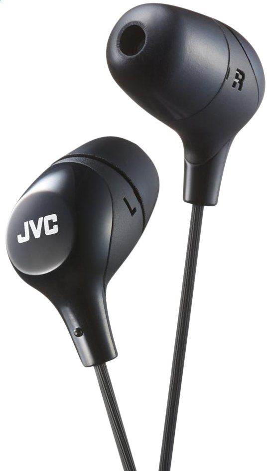 Afbeelding van JVC oortelefoon Marshmallow HA-FX38-B-E zwart from ColliShop
