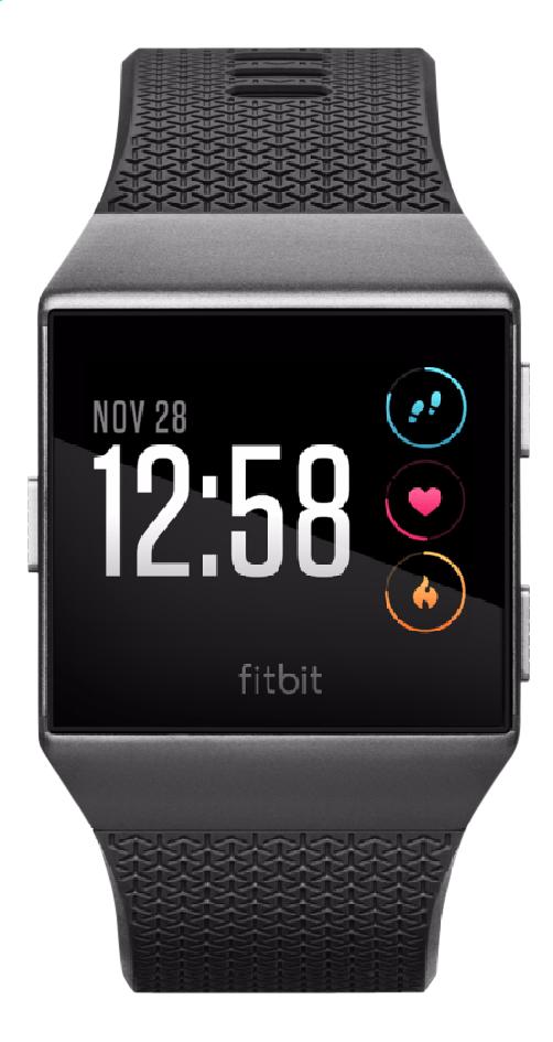 Image pour Fitbit montre connectée Ionic gris graphite à partir de ColliShop
