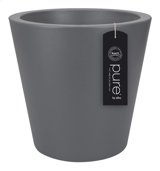 Image pour Elho pot Pure Straight round anthracite diamètre 35 cm à partir de ColliShop