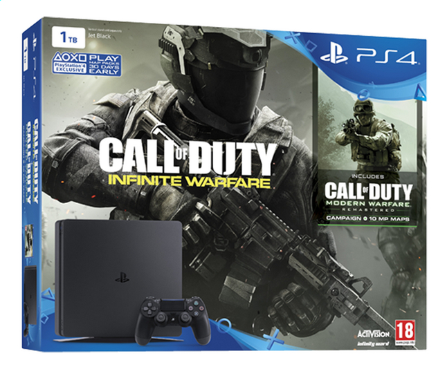 Afbeelding van PS4 console New + Call of Duty Infinite Warfare + Modern Warfare + Early acces code from ColliShop