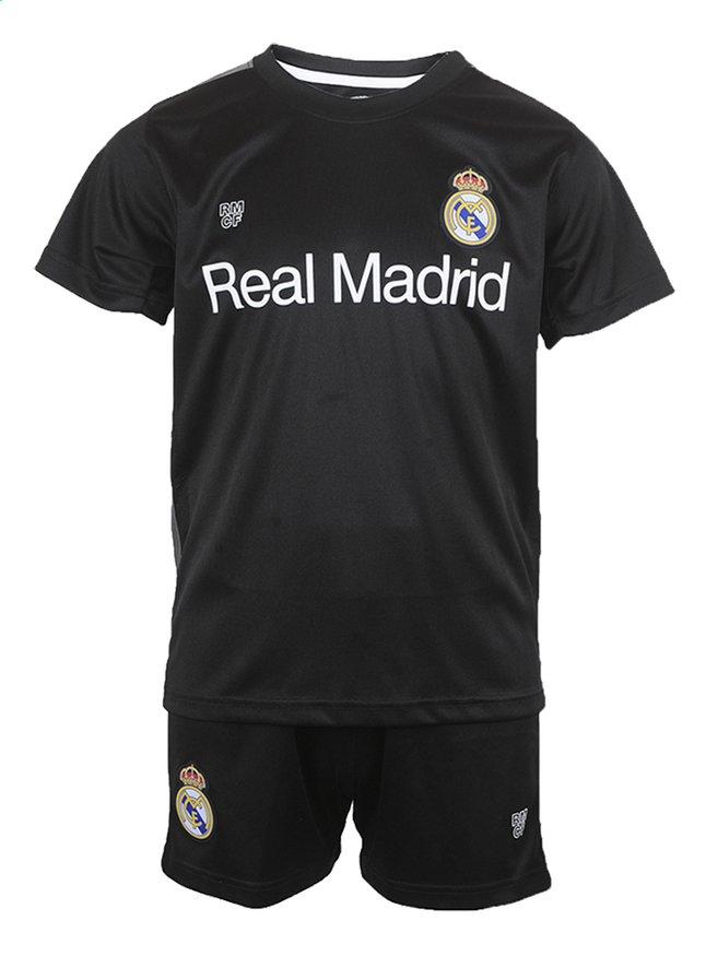 Afbeelding van Voetbaloutfit Real Madrid 2018-2019 zwart maat 164 from ColliShop