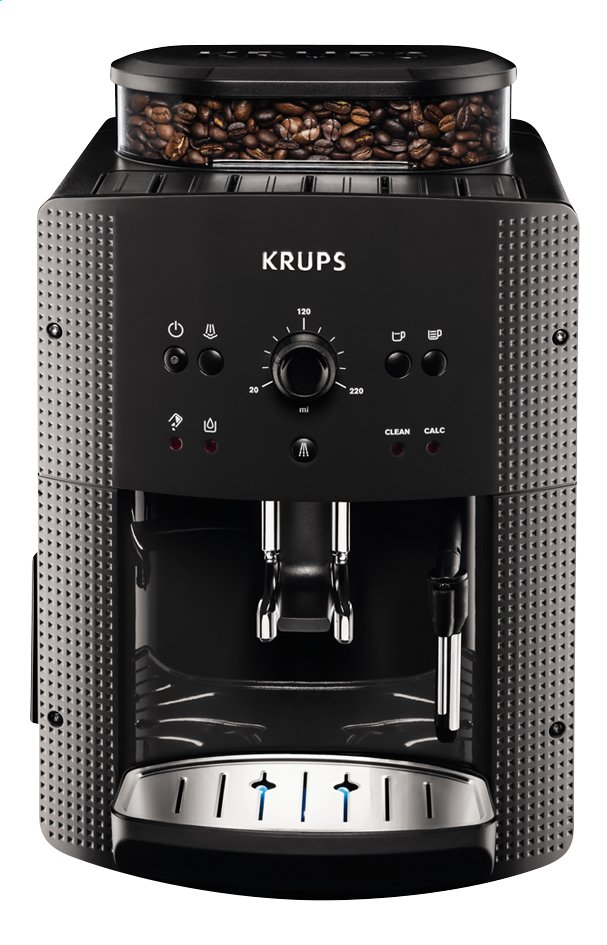 Image pour Krups Machine à espresso entièrement automatique EA810B black marble à partir de ColliShop
