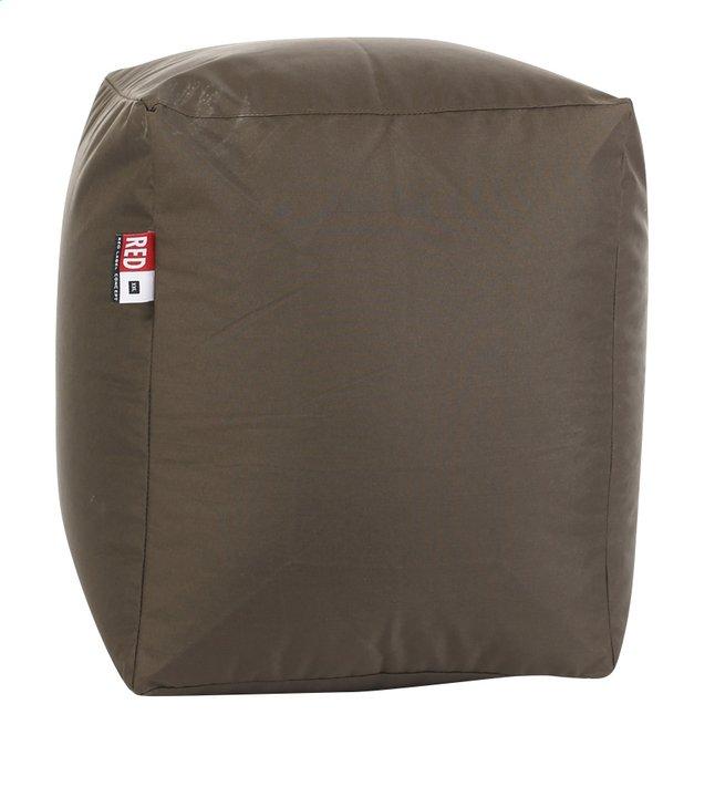 Image pour Pouf Cube brun à partir de ColliShop