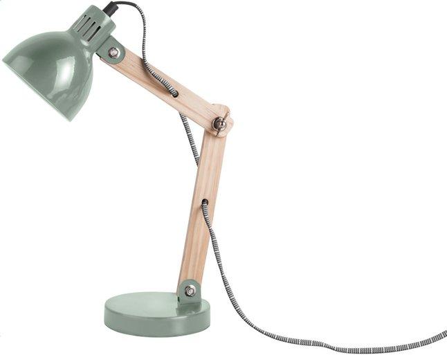 Image pour Lampe de bureau Leitmotiv Ogle Wood Green à partir de ColliShop