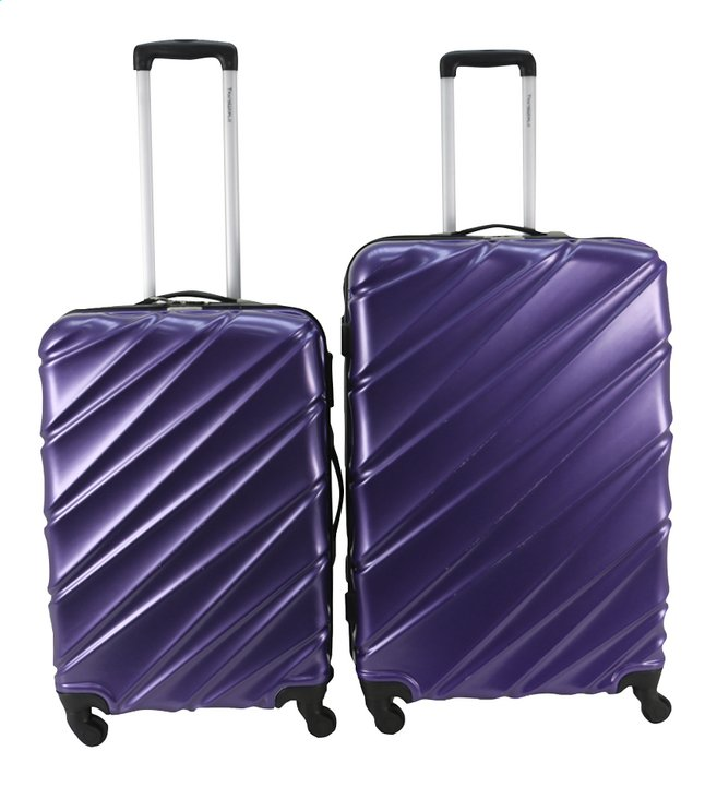 Afbeelding van Transworld Harde trolleyset Curty Spinner purple from ColliShop