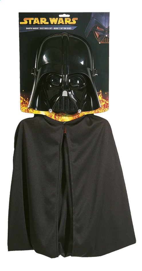 Afbeelding van Verkleedpak Star Wars Darth Vader één maat from ColliShop