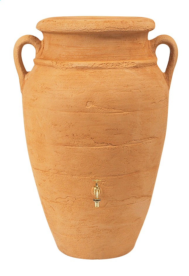 Image pour Garantia tonneau à pluie Amphore antik sable 250 l à partir de ColliShop
