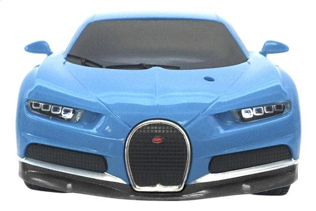 Image pour New Bright voiture RC Bugatti Chiron bleu à partir de ColliShop