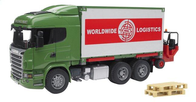 Image pour Bruder camion Scania série R à partir de ColliShop
