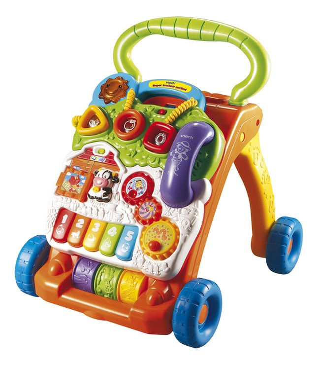 Afbeelding van VTech Super Trotteur parlant orange FR from ColliShop