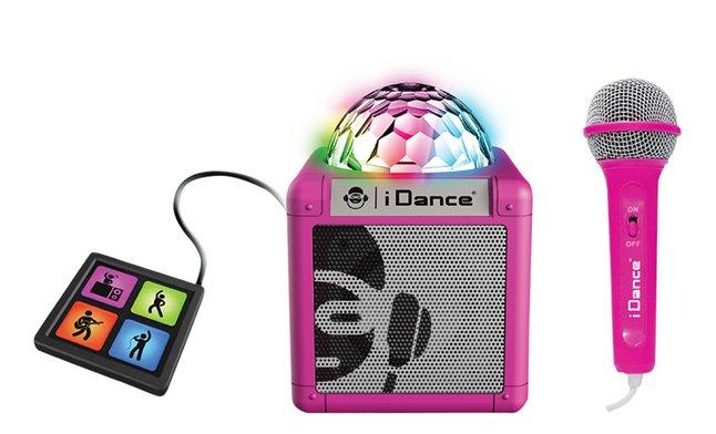 iDance Luidspreker bluetooth Cube sing 200 roze