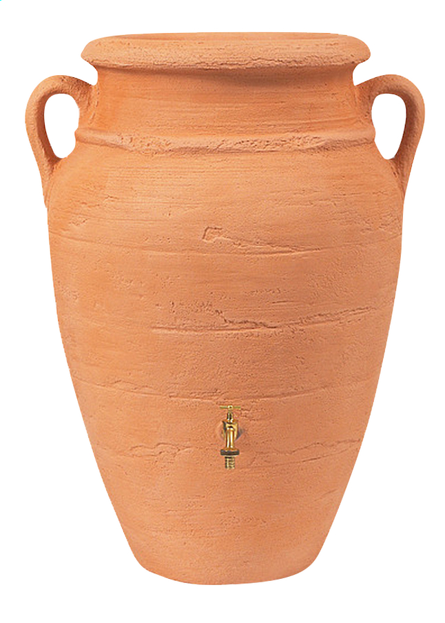Afbeelding van Garantia Regenton Amfoor antiek terracotta 360 l from ColliShop