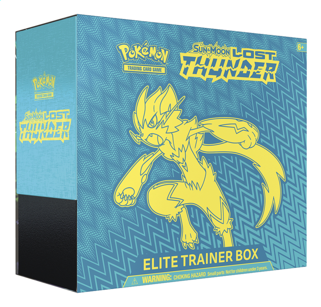 Afbeelding van Pokémon Trading Cards Pokemon Sun & Moon 8 Elite Trainer Box from ColliShop