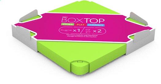 Afbeelding van Chillafish deksel voor Box groen from ColliShop