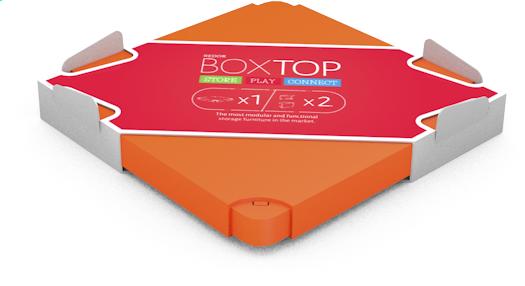 Image pour Chillafish couvercle pour Boîte orange à partir de ColliShop