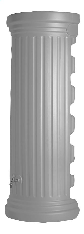 Image pour Garantia Tonneau de pluie mural Colonne romaine gris 550 l à partir de ColliShop