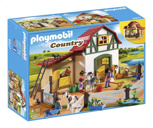 Image pour Playmobil Country 6927 Poney club à partir de ColliShop