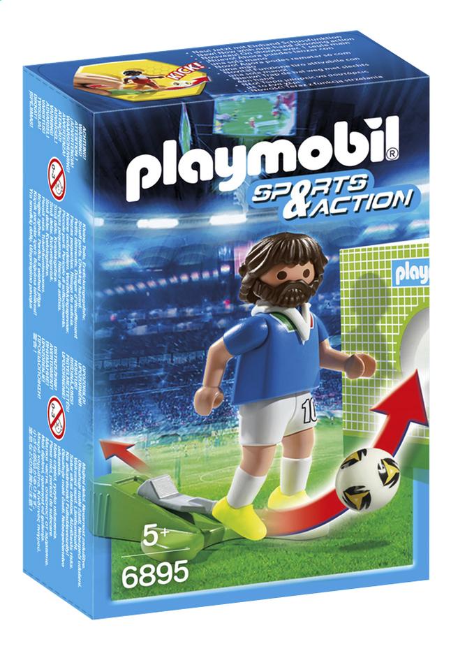 Afbeelding van Playmobil Sports & Action 6895 Voetbalspeler Italië from ColliShop