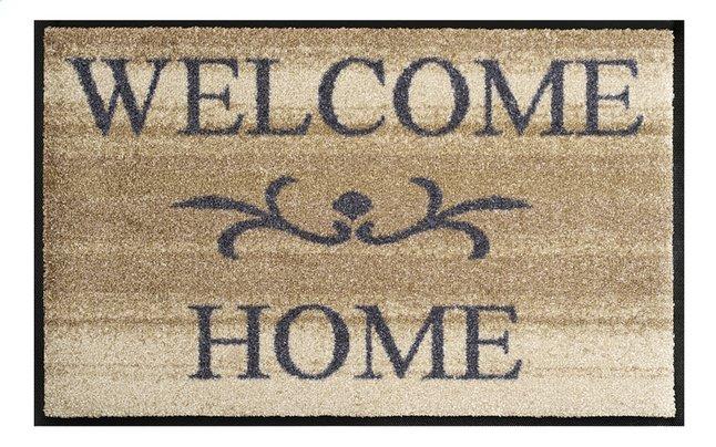 Wash+dry Deurmat Welcome home 50 x 75 cm