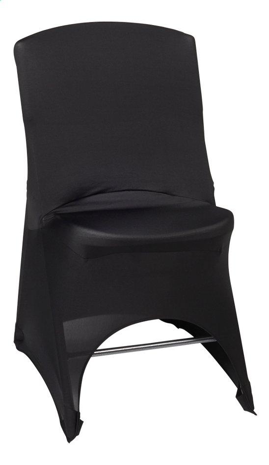 Afbeelding van Stretchhoes voor plooistoel zwart from ColliShop