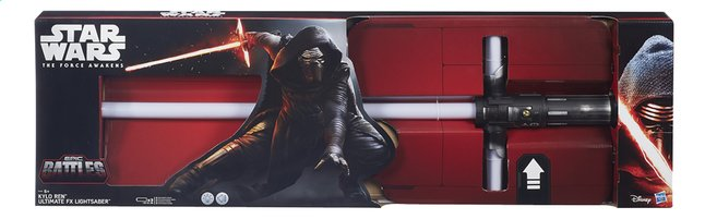 Afbeelding van Elektronisch zwaard Star Wars Episode VII Kylo Ren Ultimate FX Lightsaber from ColliShop