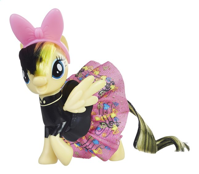 Afbeelding van My Little Pony figuur The Movie Sparkling and spinning skirt Songbird Serenade from ColliShop