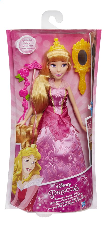 Afbeelding van Mannequinpop Disney Princess Lange haren Doornroosje from ColliShop