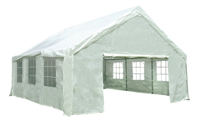 Image pour Tente de réception robuste en polyéthylène 6 x 6 m à partir de ColliShop