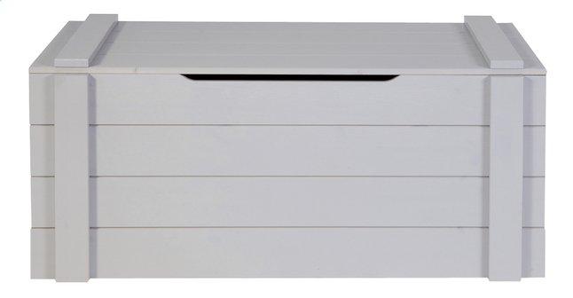 Image pour Coffre de rangement Dennis gris béton à partir de ColliShop