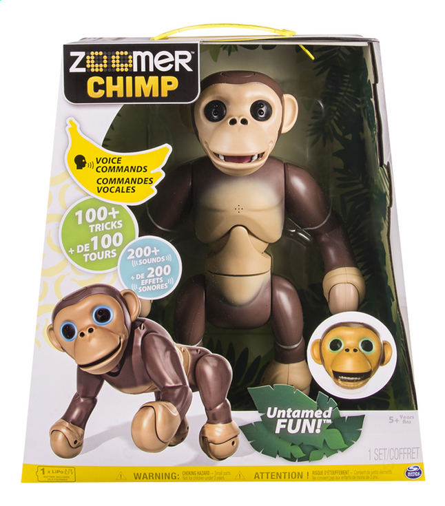 Afbeelding van Robot Zoomer Chimp from ColliShop