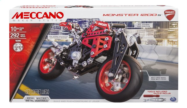 Afbeelding van Meccano Ducati Monster 1200s from ColliShop