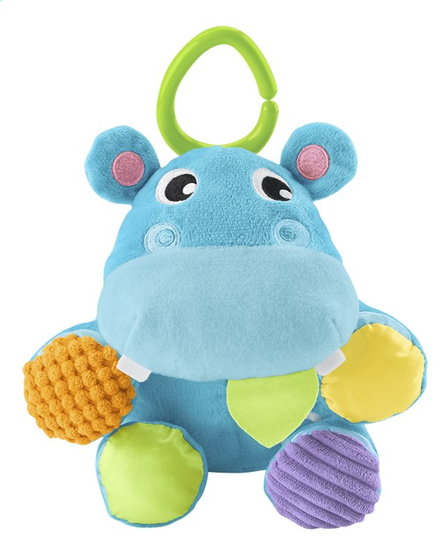 Fisher-Price peluche-balle Mon Hippo 2 en 1