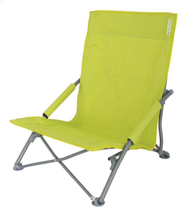 Image pour EuroTrail Chaise de plage St Tropez citron vert à partir de ColliShop