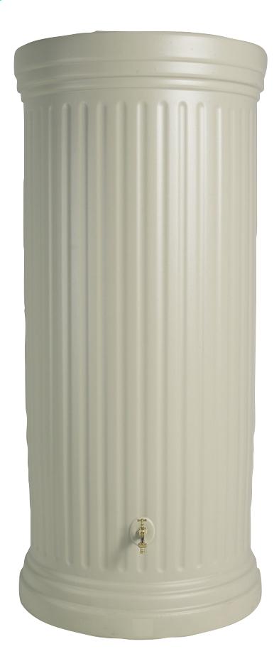 Image pour Garantia Tonneau de pluie Colonne romaine sable 1000 l à partir de ColliShop