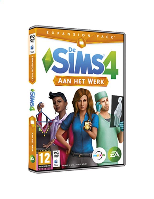 Afbeelding van Pc De Sims 4: Aan het werk from ColliShop