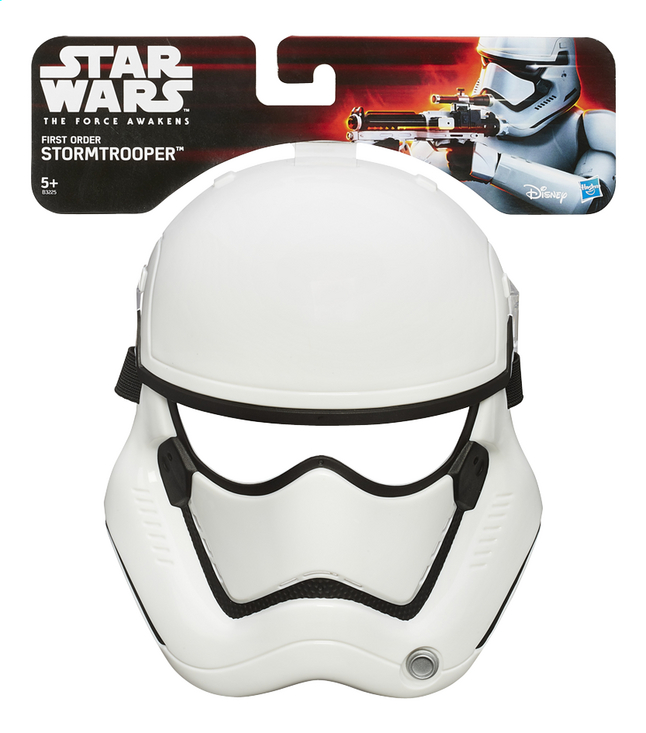 Afbeelding van Masker Disney Star Wars Episode VII Stormtrooper from ColliShop