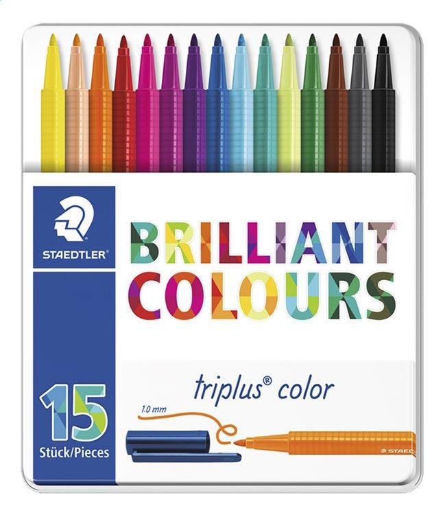 Afbeelding van STAEDTLER viltstift Triplus Color - 15 stuks from ColliShop