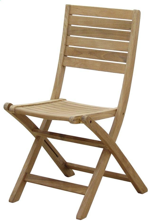 Image pour ScanCom chaise pliante Ceram teck à partir de ColliShop