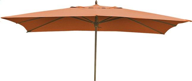 Image pour Parasol de luxe en bois FSC 2 x 3 m terracotta à partir de ColliShop