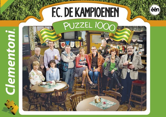 Image pour Clementoni puzzle F.C. Champions à partir de ColliShop