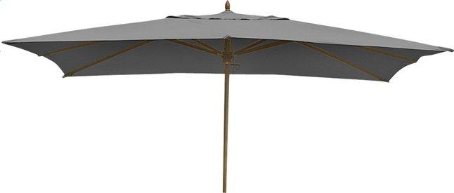 Afbeelding van FSC-luxehoutmastparasol 3 x 3 m grijs from ColliShop