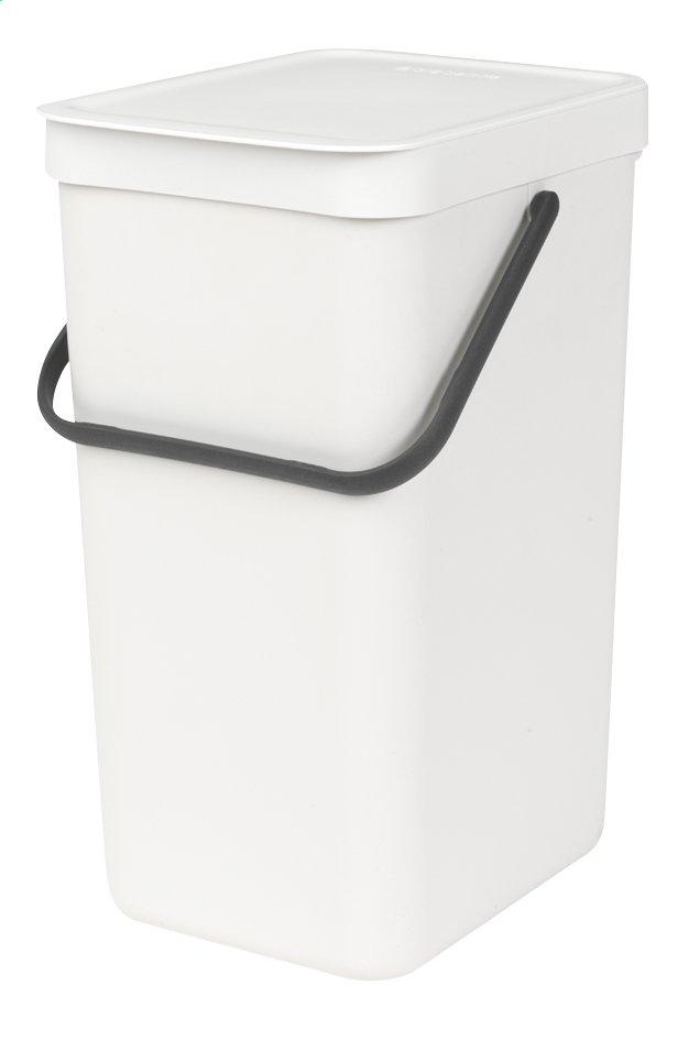 Image pour Brabantia Poubelle Sort & Go blanc 16 l à partir de ColliShop