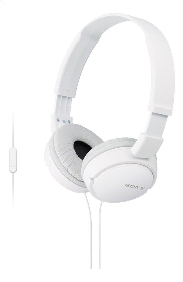 Sony Hoofdtelefoon MDR-ZX110 wit