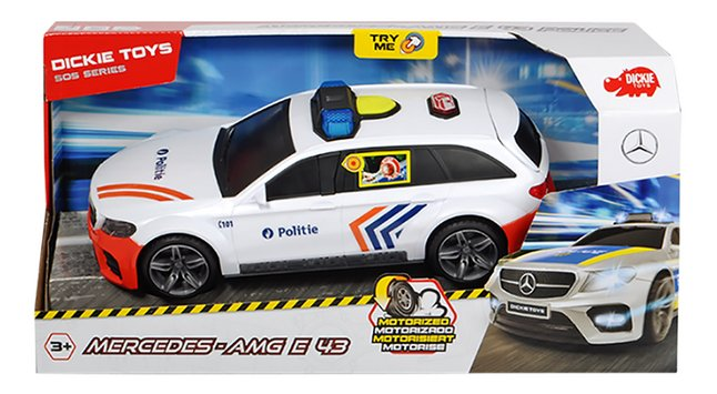 Afbeelding van Dickie Toys auto Mercedes AMG E 43 Politie from ColliShop