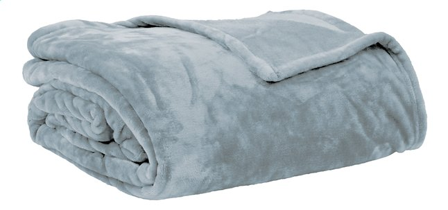 Afbeelding van Tiseco Home Studio Plaid Soft uni blauw microflanel from ColliShop